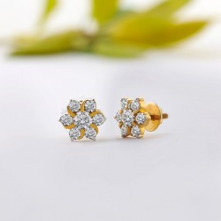 Bette Moissanite Studs