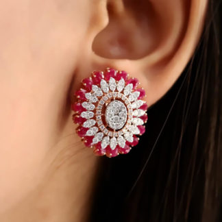 Alqatifa Lab Grown Diamond Earring