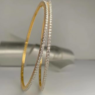 Annette Lab Grown Diamond Bangle