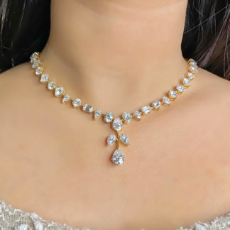 Cei Designer Moissanite Necklace