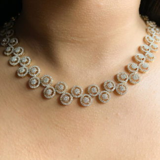 Designer Lab Diamond Necklace