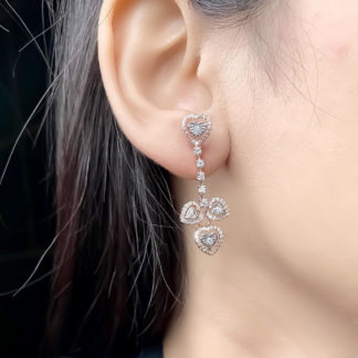 All Hearts Lab Diamond Earring