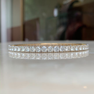 Irene Moissanite Bangle