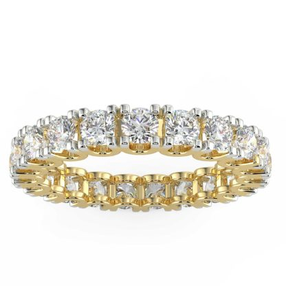 Alicia Eternity Moissanite Band