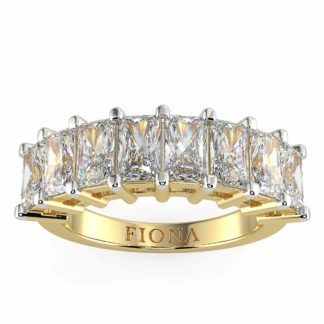 Amanda Moissanite Eternity Ring