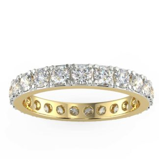 Zoe Eternity Solitaire Ring
