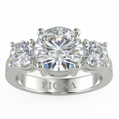 Avian Grace Moissanite Ring