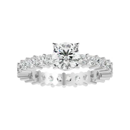Hailey Moissanite Ring