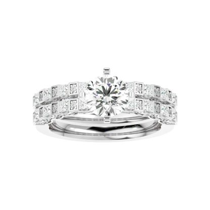 Eliana Moissanite Ring