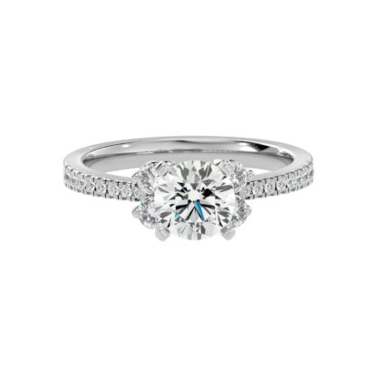 Alba Moissanite Ring