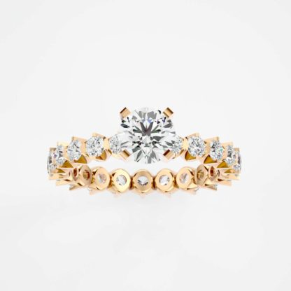 Eternia Solitaire Moissanite Ring