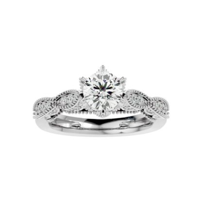 Grinny Moissanite Ring