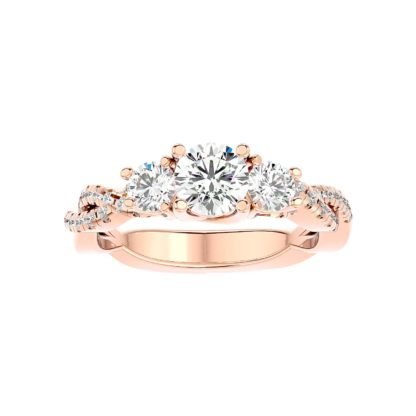 Aniq Moissanite Ring
