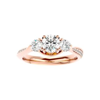 Farid Moissanite Ring