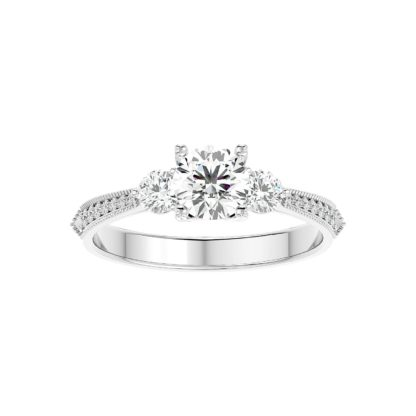 Perfecte Moissanite Ring