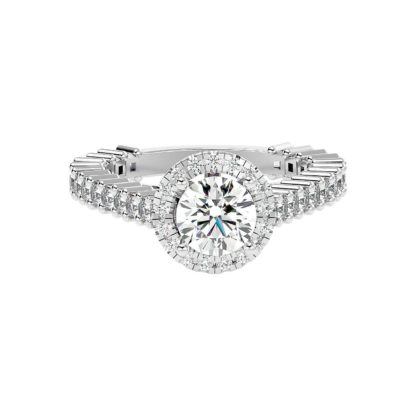 Amore Moissanite Ring