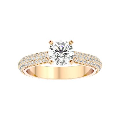Elegant Moissanite Ring