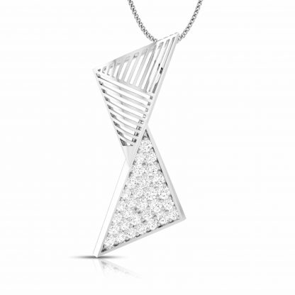 Echelle Lab-Diamond Pendant