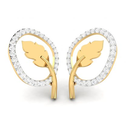 Blatt Cabal Lab-Diamond Earrings