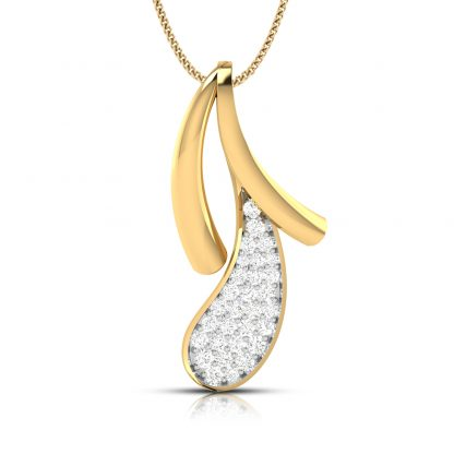 Cereza Lab-Diamonnd Pendant