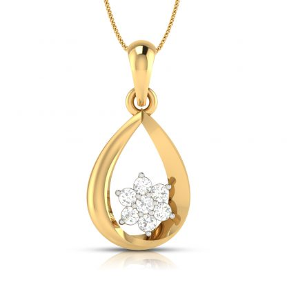 Cute crux Lab Diamond Pendant Bestseller