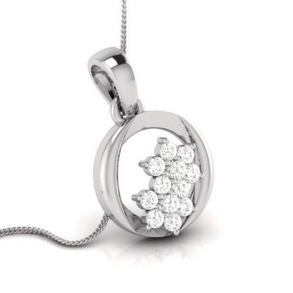 Brute bloom Lab Diamond Pendant