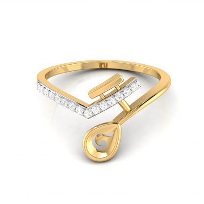 Pelerine Lab Diamond Ring