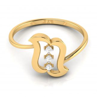 The Butterfly Lab Diamond Ring