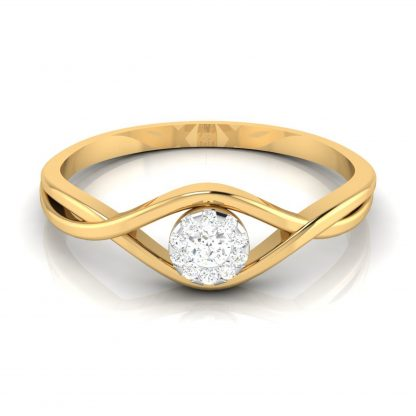 Augen Lab Diamond Ring