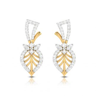 Arbol Lab-Diamond Earrings