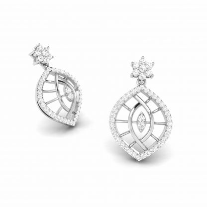 Akruti Lab-Diamond Earrings