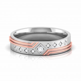 Royal Roze Lab Diamond Ring