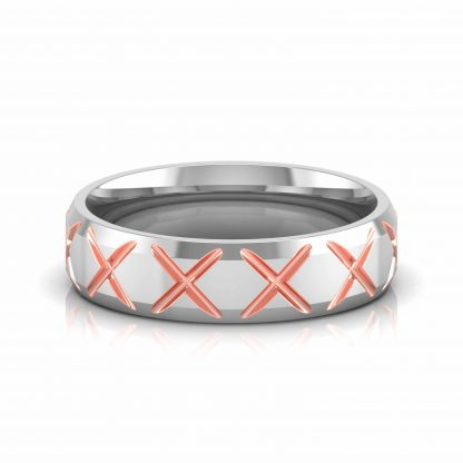 Criss Cross Band Ring