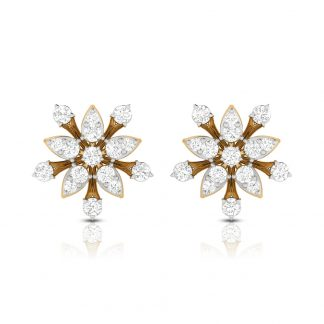 Asteroids Lab Diamond Earring