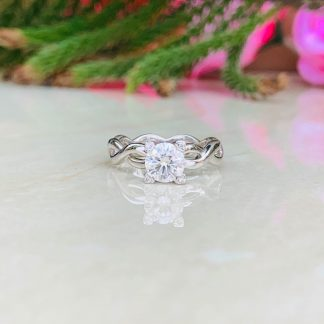 Star Struck Solitaire Ring