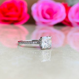 Twinkle Twist Solitaire Ring