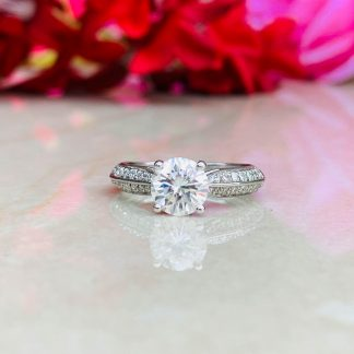 Love Struck Solitaire Ring